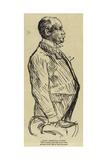 Chief Inspector Froest Giclee-trykk av Charles Paul Renouard