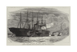 The Last Voyage of the Great Eastern Reproduction procédé giclée par Charles William Wyllie