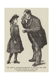 The Late M Pasteur Examining an English Girl Who Had Been Bitten by a Mad Dog Giclee-trykk av Charles Paul Renouard