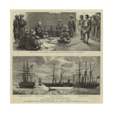 The Rebellion in the Soudan Giclee Print by Charles William Wyllie