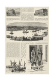 Constantinople Illustrated Giclee Print by Charles William Wyllie