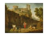 View of Italy Giclée-Druck von Claude Joseph Vernet