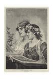 The Christmas Carol Giclee Print by Conrad Kiesel