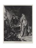 A Love Philtre Gicléetryck av Edgar Bundy