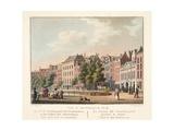 Vue D'Amsterdam No.18. De N.Z. Voorburgwal Giclee Print by Cornelis de Kruyff