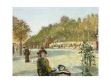 September Sunlight, Paris Giclee Print by Childe Hassam
