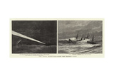 The Naval Manoeuvres, with the Hostile Fleet Giclee Print by Charles William Wyllie