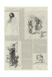 Illustrations to Quevedo's Don Pablo Giclée-Druck von Daniel Urrabieta Vierge