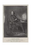 Charles Dickens Giclee Print by Daniel Maclise