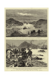 The War in the East, Scenes after the Fall of Port Arthur Reproduction procédé giclée par Charles William Wyllie