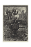 A Rest by the Way Giclee Print by Davidson Knowles