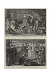 The Historical Tableaux and Costume Ball of the Royal Institute of Painters in Water Colours Giclee Print by Charles Joseph Staniland