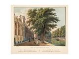 Vue D'Amsterdam No.3. De Heerengracht Tusfchen De Vijzel-En Spegel-Straaten. Le Canal Dit Heerengra Giclee Print by Cornelis de Kruyff