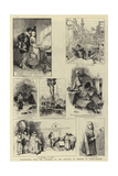 Illustrations from the Catalogue of the Institute of Painters in Water-Colours Giclee Print by Charles Joseph Staniland
