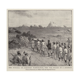 The Funeral of Sergeant Warringham, Who Was Killed in a Skirmish Giclee Print by Charles Joseph Staniland