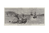 The Naval Manoeuvres, the C Fleet Steaming Out of Queenstown under Sealed Orders Giclee Print by Charles Joseph Staniland
