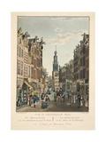 Vue D'Amsterdam No.22. De Kalverstraat Giclee Print by Cornelis de Kruyff