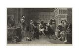 The Rich Widow Giclee Print by David Wilkie Wynfield