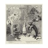 Christmas Entertainment at the Royal Free Hospital, Gray's Inn Road Giclee Print by Charles Joseph Staniland