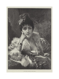 A Fair Critic Giclee Print by Conrad Kiesel