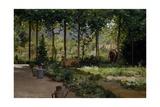 Garden (Summer), 1879 Lámina giclée por Demetrio Cosola