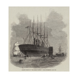 Present State of The Great Eastern Giclee Print by Edwin Weedon