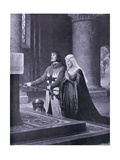 The Dedication Giclee Print by Edmund Blair Leighton