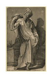 A Philosopher, Between 1500 and 1552 Giclee Print by Domenico Beccafumi