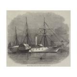 The Faid Gihaad, Yacht of the Viceroy of Egypt Reproduction procédé giclée par Edwin Weedon