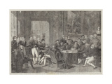 The Congress of Vienna Giclee Print by Edmond Morin