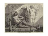 The Death of Jean Goujon Giclee Print by Edward Henry Wehnert