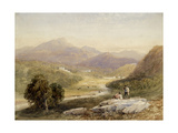 The Vale of Ffestiniog, Merionethshire Giclee Print by David Cox