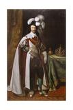 Charles I, 1633 Lámina giclée por Daniel Mytens