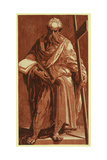 St. Philip (Or Andrew), Between 1500 and 1552 Giclée-tryk af Domenico Beccafumi