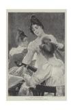 A Trio Gicléetryck av Edgar Bundy