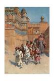 The Fort of Gwalior, Madhya Pradesh Gicléedruk van Edwin Lord Weeks