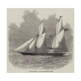 Norah Creina, Iron Screw Steam-Yacht Reproduction procédé giclée par Edwin Weedon