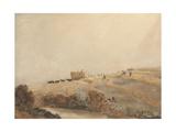 Haymaking, C.1808 Giclee Print by David Cox