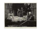 Elaine Giclee Print by Edmund Blair Leighton