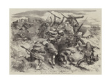 The War, the Turcos and their Mode of Fighting Giclee Print by Edmond Morin