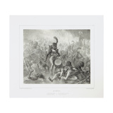 The Drum Waking the Dead Soldiers, 1842 Giclee Print by Denis Auguste Marie Raffet