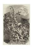 The Christmas Tree Giclee Print by Edmond Morin