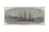 The Alabama at Port Royal, Jamaica Reproduction procédé giclée par Edwin Weedon