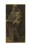 St. Peter, Between 1500 and 1552 Giclée-tryk af Domenico Beccafumi