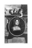 Catherine of Aragon Giclée-Druck von Cornelis Vermeulen
