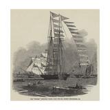 The Titania Schooner Yacht, Built for Mr Robert Stephenson, Ce Reproduction procédé giclée par Edwin Weedon