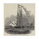 The Titania Schooner Yacht, Built for Mr Robert Stephenson, Ce Giclee Print by Edwin Weedon