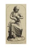 Une Paysanne Francaise, Terra-Cotta Giclee Print by Felix Regamey