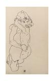 Mother and Child, 1917 Giclée-tryk af Egon Schiele
