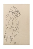 Mother and Child, 1917 Giclee Print by Egon Schiele